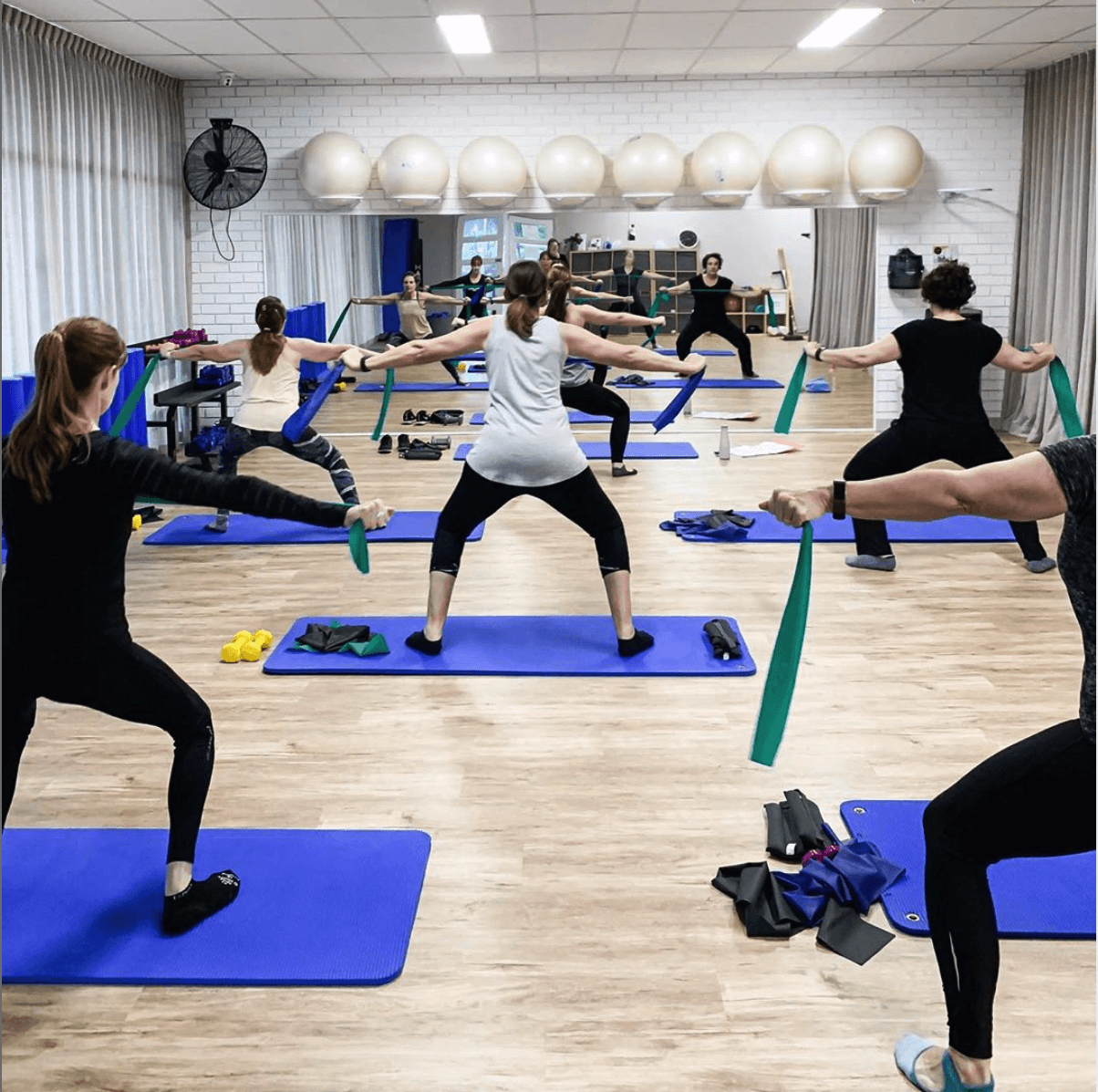 Mat Pilates Classes - The Studio Midland